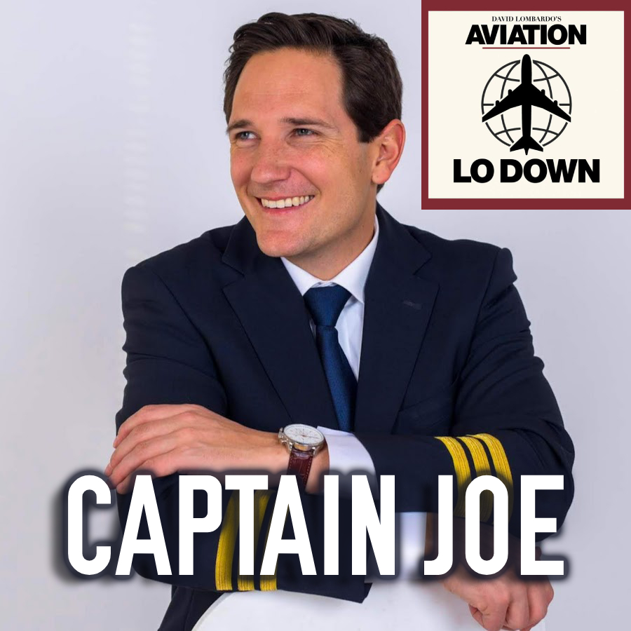 Captain Joe does a 55-minute interview on Aviation LO Down, hosted by David Lombardo from ATC Memes! (Long Island, NY)